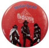 Motorhead - 'Ace of Spades Red' Button Badge